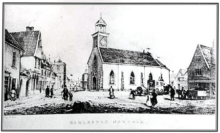Harleston_Market place_1820