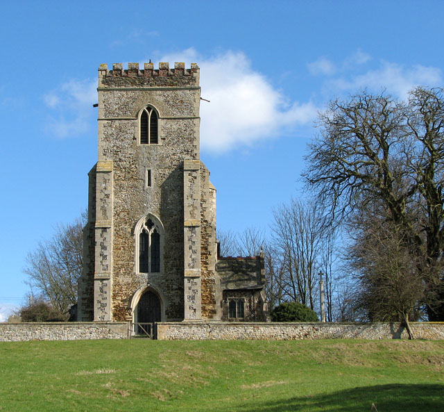 Shouldham Church_Evelyn Simak