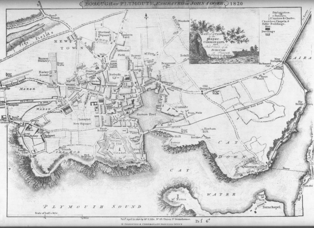 Plymouth_map_nile_1820a s