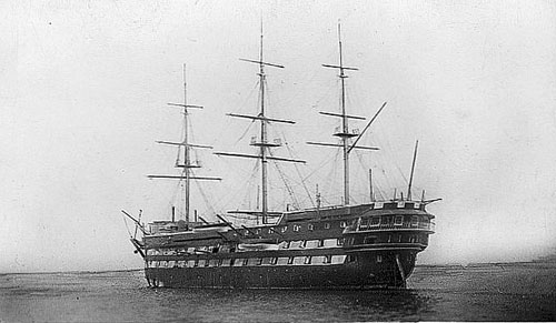 HMS Conway at Rock Ferry