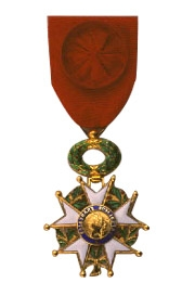 Lockyer_HF_Officier medal of the French Légion d'honneur