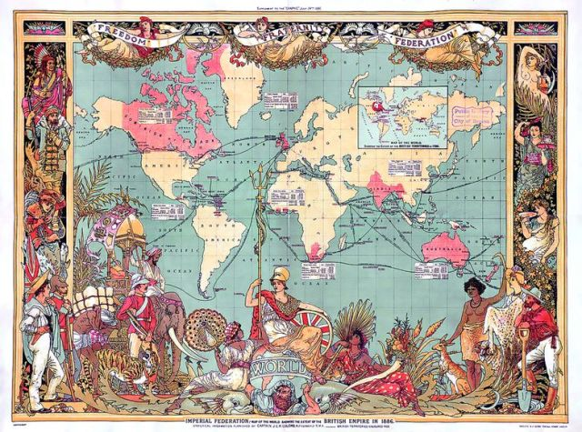 The rise and fall of the British Empire_Manuel Web Belin_1886