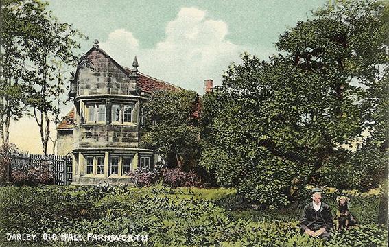 Postcard-Darley-Old-Hall-Farnworth-Bolton-Lancashire_s